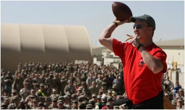 Peyton Manning Afghanistan