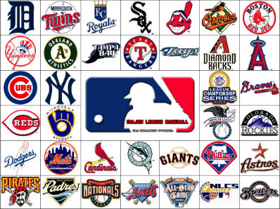 MLB Logo and Teams