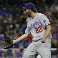 CLAYTON KERSHAW LOS ANGELES 2017